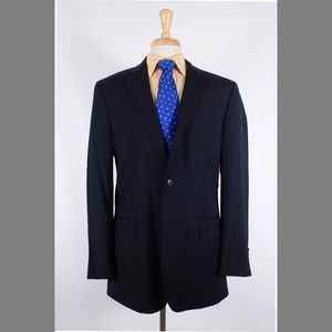 Jos. A. Bank 41L Navy Sport Coat Y093